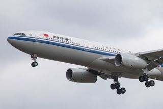 Air China jet returns to Dulles after engine fire reported