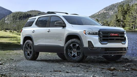 The 2020 GMC Acadia Gets an 'Off-Road' Look and a Wacky Push-Button Shifter