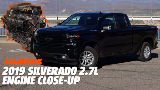 Here's a Close-Up Look at the 2019 Chevy Silverado's Four Cylinder Engine