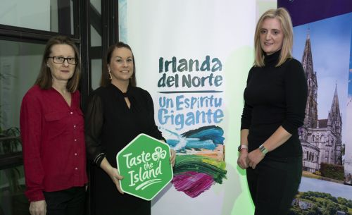 The island of Ireland says 'Hola' in Spain!