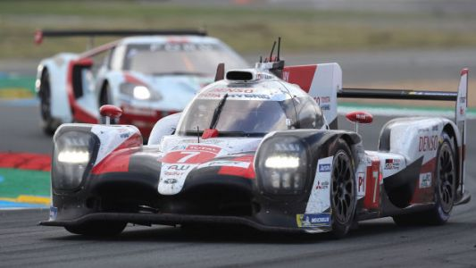 It Wasn't a Faulty Tire Sensor That Took Down the Leading Toyota Le Mans Car