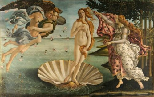 Daily Dose of Europe: Botticelli's Birth of Venus
