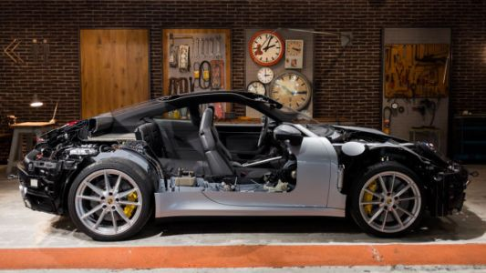This Is the Only Way Any of You Nerds Will Be Able to See the Engine in Your New Porsche 911