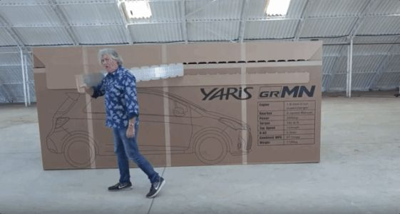 The Joy of Watching James May Unbox a Whole Car