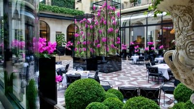 Four Seasons Hotel George V, Paris Reopens its Celebrated Marble Courtyard on May 21