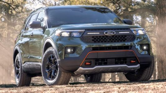 The Ford Explorer Timberline Is Ford's Latest Off-Road Play Thing