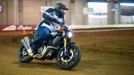 What I Learned Riding a 1200cc Motorbike With No Front Brake on a Dirt Track
