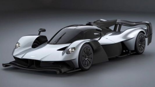 Feast Your Eyes On A Secret Track-Focused Version Of The Aston Martin Valkyrie Before You're Supposed To See It