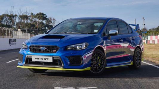 The 349 HP South African 'Diamond Edition' Subaru WRX STI Is the Most Powerful One Yet