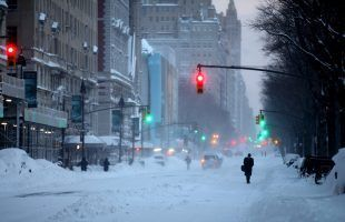 Snow and rain expected in nine northeastern states