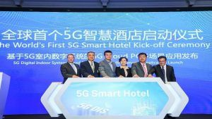 World's first 5G hotel unveiled in China, Inter Continental Shenzhen