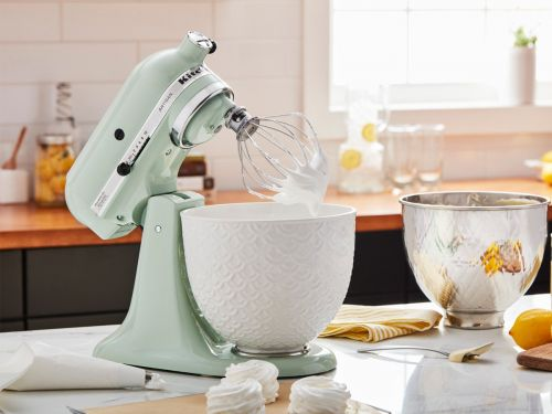 KitchenAid created a new online tool that lets you customize your stand mixer with personalized engravings, unique bowl designs, and more