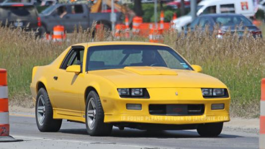 Why Is This Rad '80s Camaro Mule Testing at GM's Milford Proving Grounds?