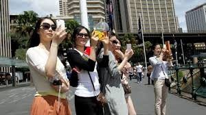 About 1.42 million Chinese business tourists travelled to Australia