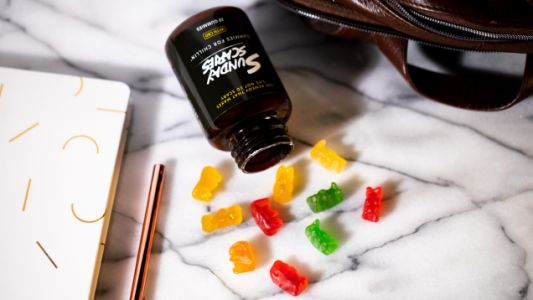 Relax and Re-Energize: Sunday Scaries Vitamin D3- and B12-Infused CBD Gummies Are 25% Off