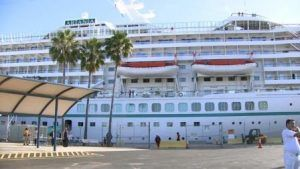German cruise brings 1,400 cruise tourists to Bay Area
