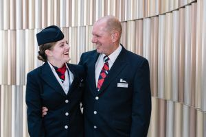 British Airways Flight, Bravo Alpha Pappa, Takes Off To celebrate Father's Day