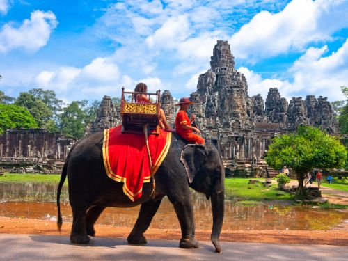 Cambodia's most famous tourist attraction just banned elephant rides
