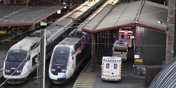 France turned one of its high-speed trains into an ambulance to transport coronavirus patients across the country