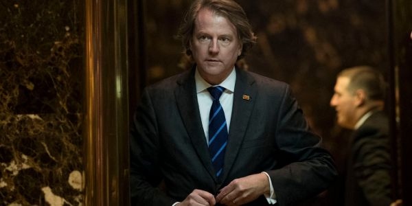 White House counsel Don McGahn was reportedly blindsided by Trump tweeting that he would be leaving the administration after he testified in the Mueller probe