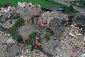 6.0 magnitude earthquake hit southern China, 12 died, 134 injured