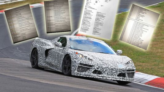 Colors, Options for Mid-Engine Corvette Detailed in Apparently Leaked Order Guide