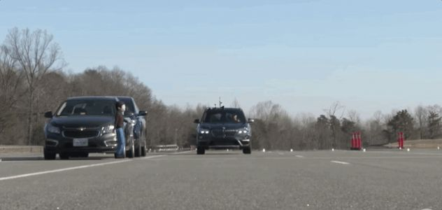 The BMW X1's Automatic Emergency Braking System is Terrible: IIHS