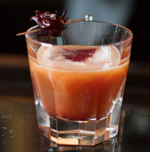 Cocktail of the Week: Baccarat Rouge at Baccarat Hotel New York