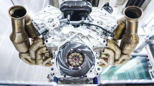 Here's a Close Look at the Aston Martin Valkyrie's 11,100 RPM V12 Powerhouse