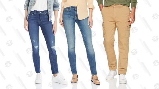 Amazon Is Taking Up to 50% Off Levi's Jeans, Jackets and More