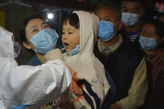China city says it's tested 3 million for virus