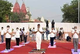 Prahlad Patel requested the youth of India to take up Yoga for healthy life