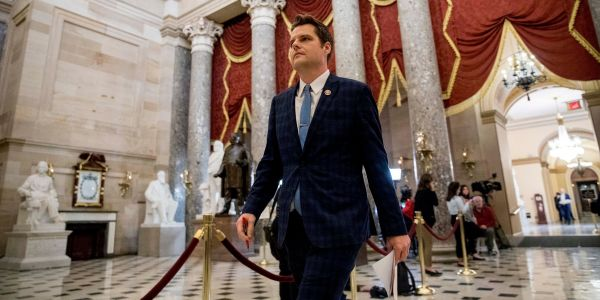 GOP Rep. Matt Gaetz praised Democrats' impeachment presentation and skewered Trump's defense as looking like 'an 8th grade book report'