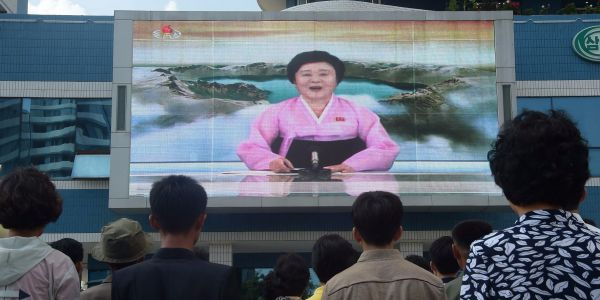 North Korean state media's most famous announcer is a 74-year-old grandmother who Trump said should be on US cable news