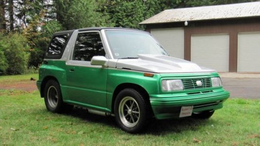 At $18,500, Would You Toy With The Idea Of Buying This Streetable 1989 Geo Tracker Dragster?