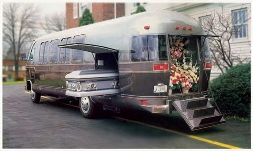 Someone Buy Me This Airstream Turned Funeral Coach Turned Escape Room