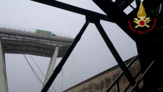 Bridge Collapse in Italy Sends Cars Plunging 260 Feet and Leaves 11 Dead