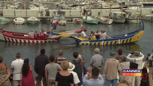 This Boat Jousting Footage Brings Back Incredibly Painful Memories