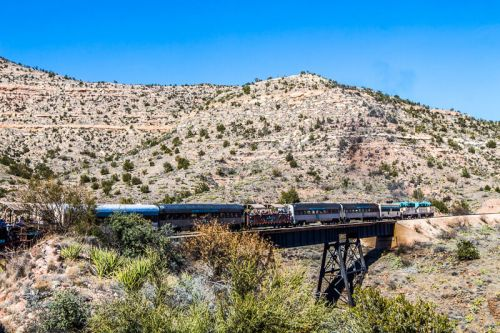 Riding The Stunning Verde Canyon Railroad - a Top USA Attraction