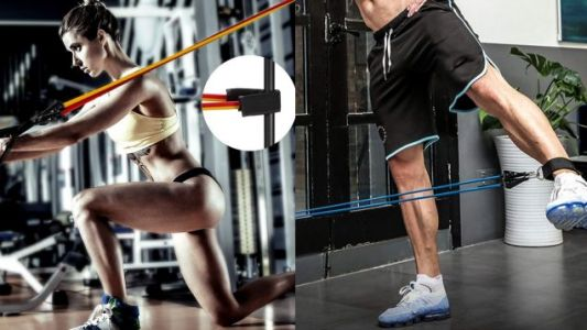 This $17 Resistance Band Set Means No More New Year's Resolution Excuses